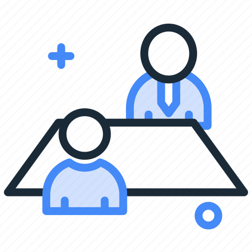 interview, job, meeting, office, teamwork, workplace icon