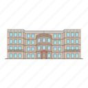 building, city, construction, estate, hall, hotel, house, plaza, portland, real icon