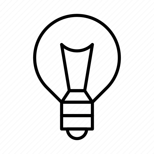Bulb, idea, lamp, light, lightbulb icon - Download on Iconfinder