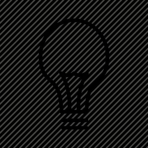 creative, idea, light icon