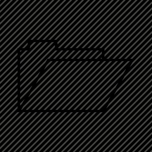 business, folder, office, open icon