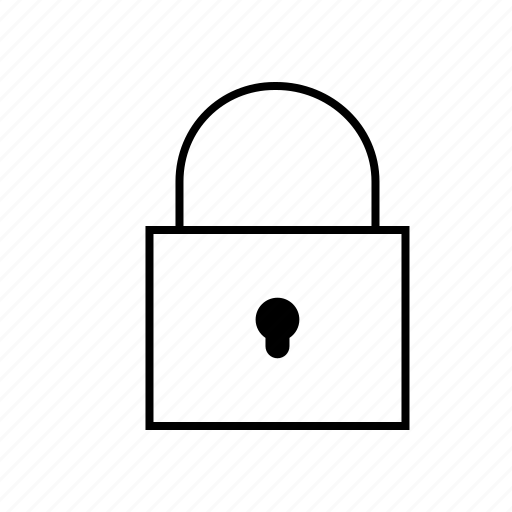 business, key, lock, security icon