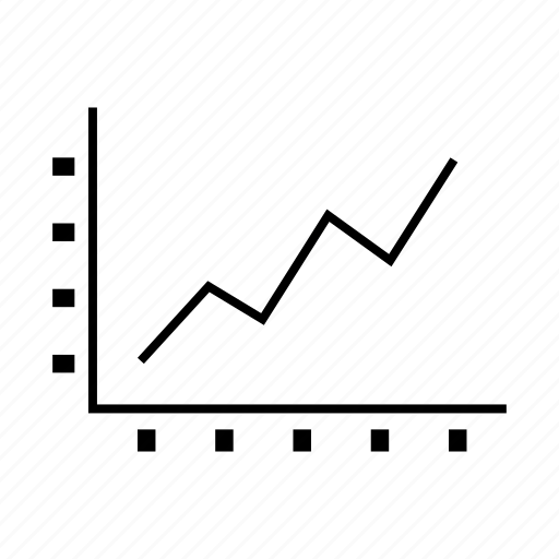 business, graph, stats, up icon