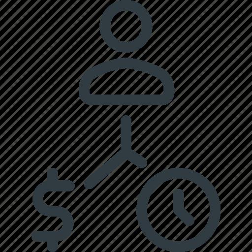 analysis, business, plan, process, strategy icon