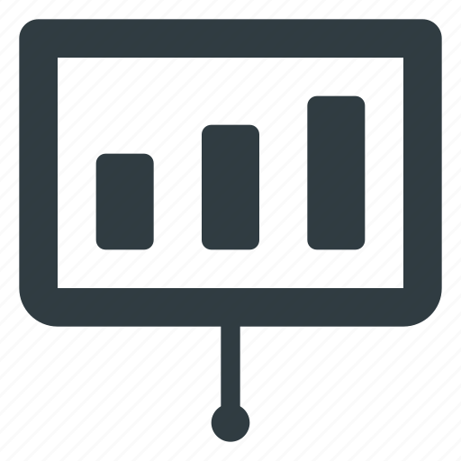 board, chart, graph, presentation icon