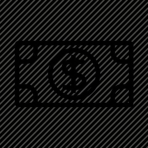 bills, cash, dollar, money icon icon