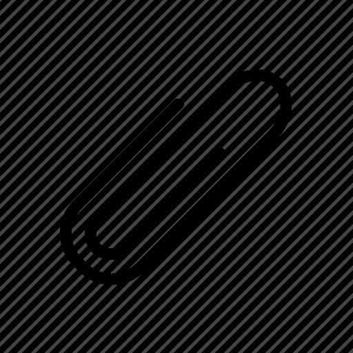 attach, attachment, clip, paperclip icon icon