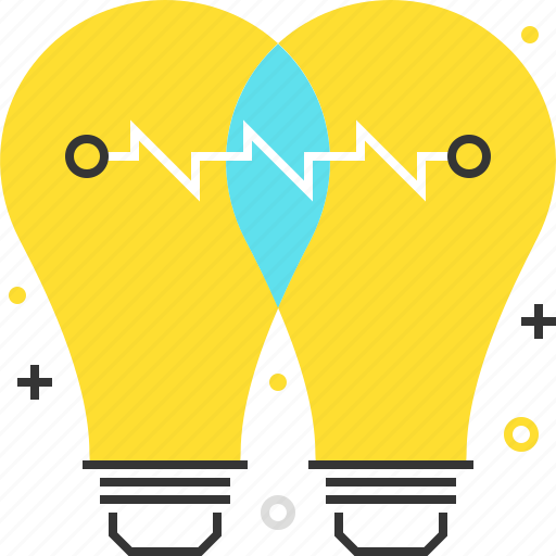 brain storming, find, idea, lamp, light, share icon