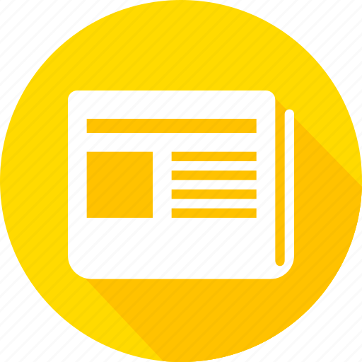 finance, marketing, money, newspaper, office business icon
