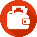 finance, marketing, money, office business, wallet icon