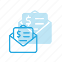 currency, envelope, finance, money, send
