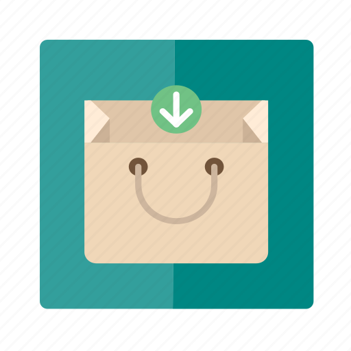 add, bag, box, business, download icon