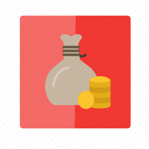 bag, business, cash, make money, money, rich icon