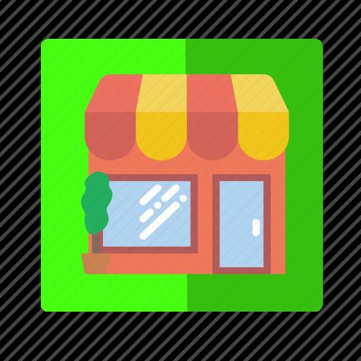 business, cash, make money, market, store icon