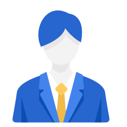 business, businessman, man, officer, work icon