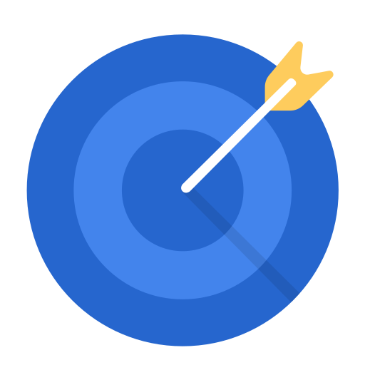 aim, business, goal, marketing, target, work icon