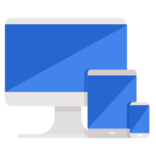 business, computer, devices, mobile, phone, responsive, technology icon