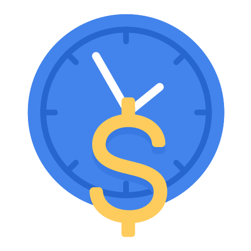 business, hour, part time, pay, rate, time icon