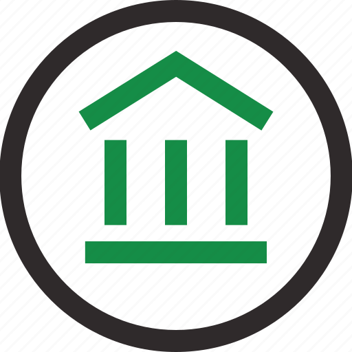 circle, equity, home, online icon