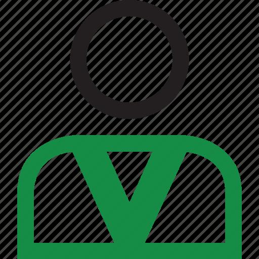 person, representative, seller icon