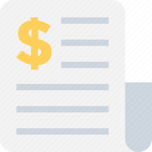 accounts, bill, report, tally, voucher icon