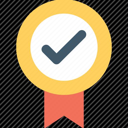 badge, certified, insignia, premium, quality icon