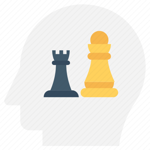 chess, chess pawn, chess rook, chess tower, strategy icon