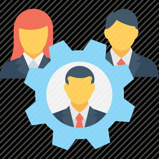 businessman, leader, organization, team, teamwork icon