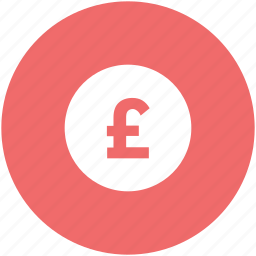coins stack, currency, financial, money, pound coin, pound sign icon
