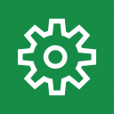 force, gear, labor, rotate, work, working icon