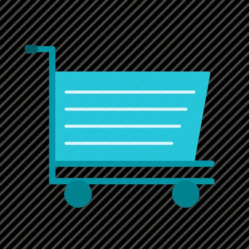business, cart, shop icon
