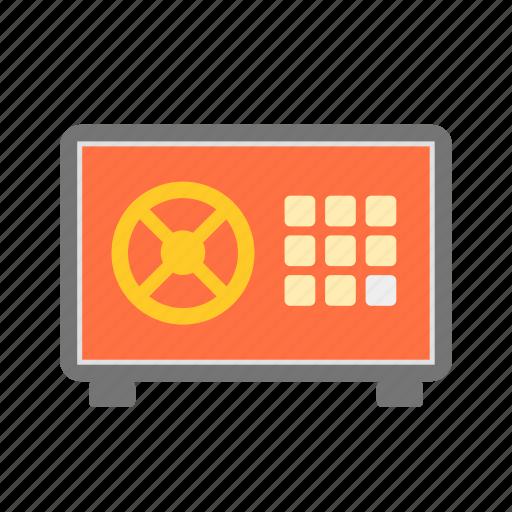 business, lock, locker, money, safebox icon
