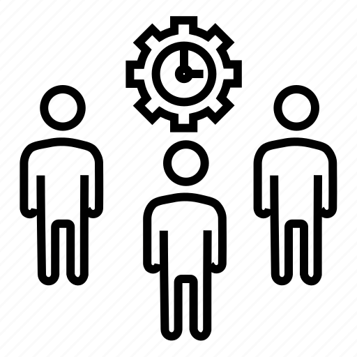 business people, businessmen, executive team, marketing, team members icon