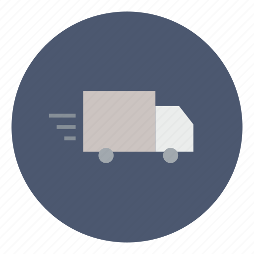 business, deliver, delivery, fast, shipping, transport, truck icon