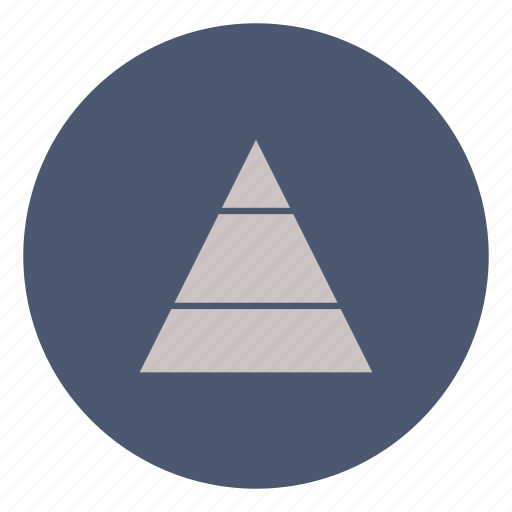 business, development, finance, level, marketing, pyramid, triangle icon