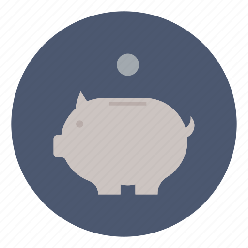 bank, business, coins, finance, money, piggy, save icon