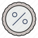 business, discount, off, percent, price, promo, sale icon