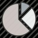analytics, business, chart, diagram, graph, performance, pie icon