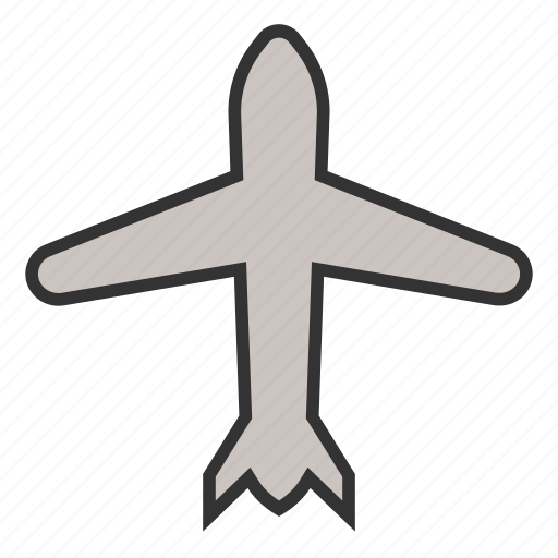airplane, business, flight, fly, plane, transportation, travel icon