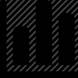 bar, graph icon