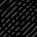 aim, focus, goal, idea, object, target icon