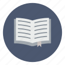 book, bookmark, business, learn, open, read, study icon