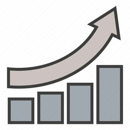 analytics, business, commerce, growth, improve, increase, statistics icon