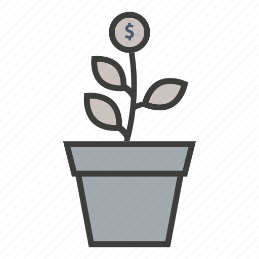 business, commerce, finance, growth, invest, investment, money icon