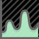 graph, investigate, survey icon