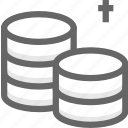 business, coins, finance, funds, money icon