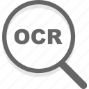 business, ocr, scan icon