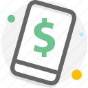 business, finance, mobile, payment icon