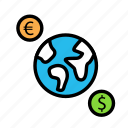bill, currency, moneyworld, value icon