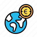 currency, monetize, valuecoin, worldeuro icon